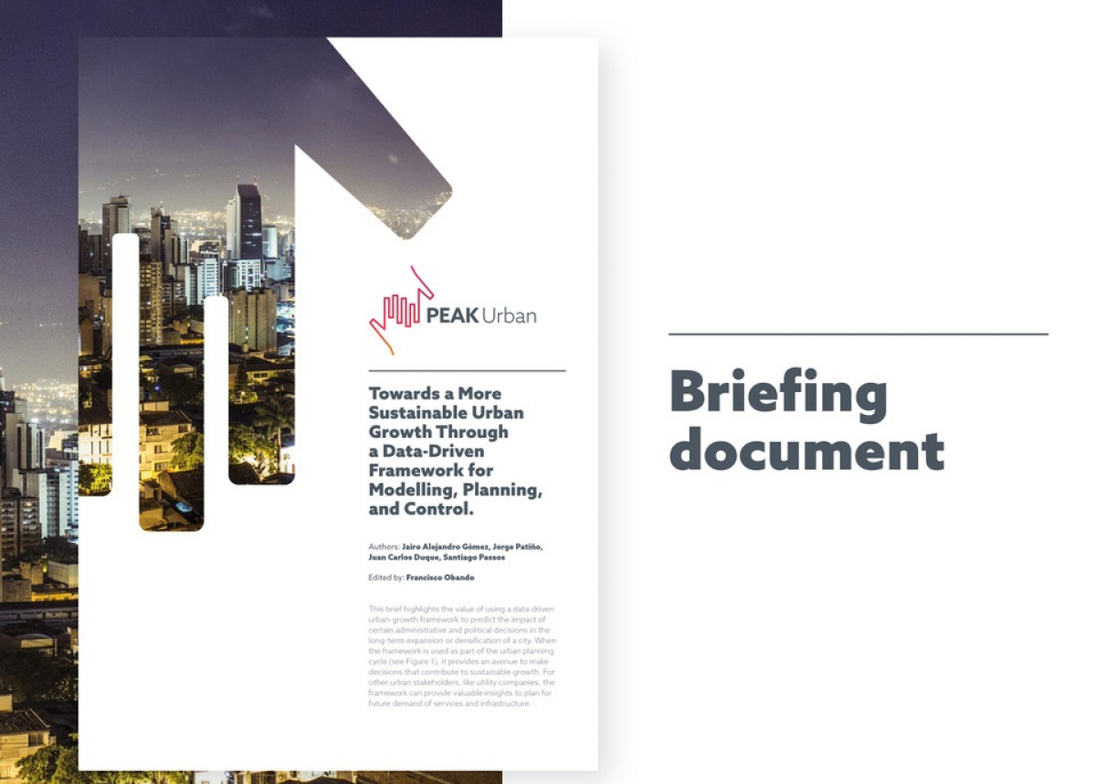 PEAK Urban Briefing front cover