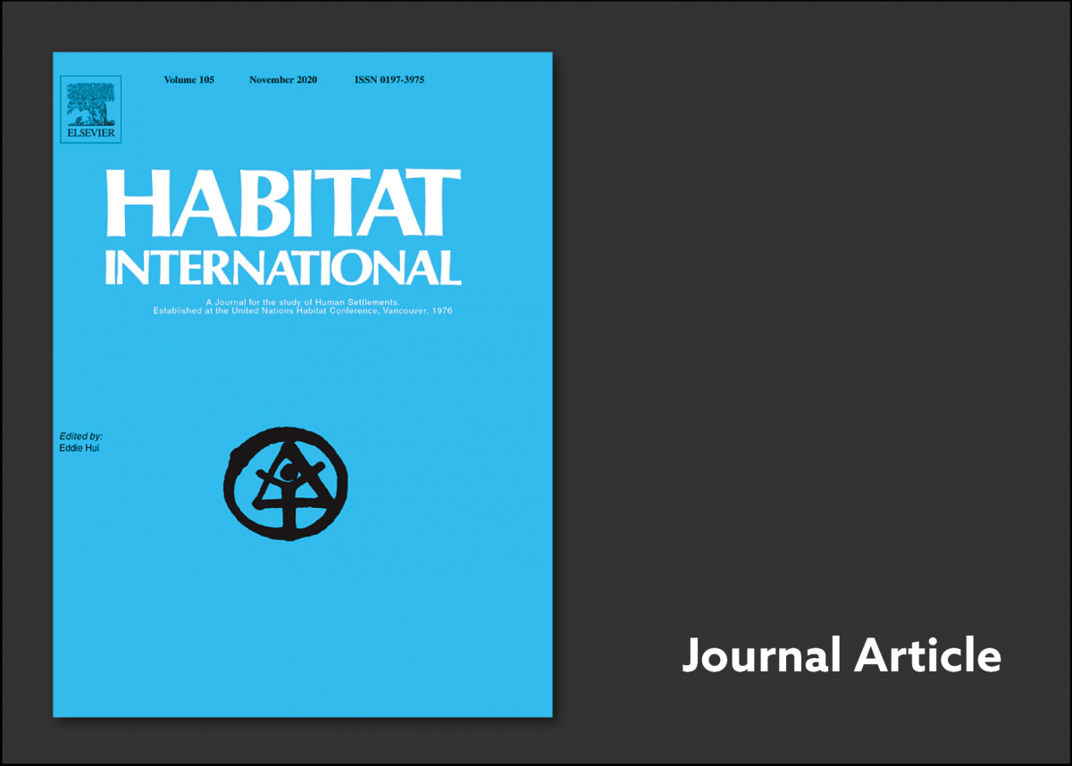 Habitat International cover